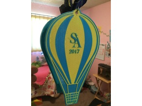 Hot Air Balloon Badge