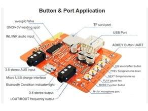 Box for Bluetooth Audio Receiver board module