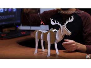 Reno Navideño. Rudolf Christmas