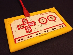 MakeyMakey gamepad holder