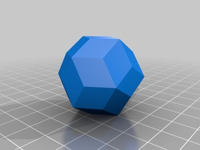 Regular Polyhedrons and Dice Shapes