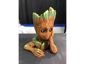 baby groot pot (remix remix)