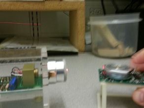 Cradle for Laser Experiment