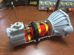 Working 5 speed transmission model for Toyota 22RE engine