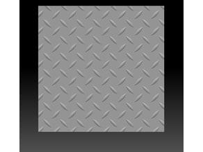 single line diamond pattern