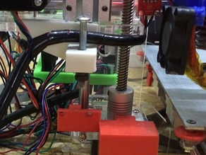 Sunhokey z axis homing and z motor clamps