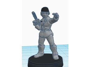 Imperial Naval Officer (Star Wars Legion scale)