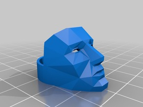 Low Poly Mask -Smoothed Join