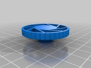 Aperature Science Logo Extruder Knob for Ender 3