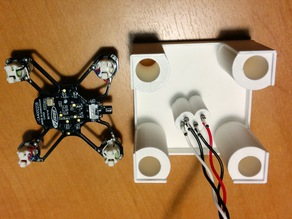 Pogo pin debug jig for Hubsan Q4 / Estes Proto-X micro quadcopters
