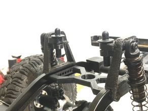 HPI Venture Rear Shock Towers With Narrow Body Mounts
