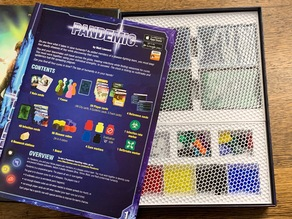 Parametric Pandemic Board Game Insert (made with BIT)