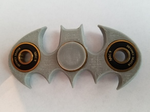 Batman Fidget Spinner (Beveled and Balanced)