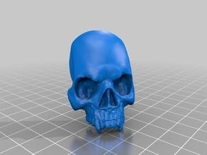 Vampire Skull Flat Back