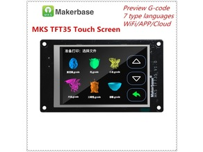 box with lid MKS TFT35 V1.0 ( Touch Screen 3.5 Inch )