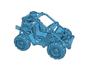 1/48 scale wargame buggy model