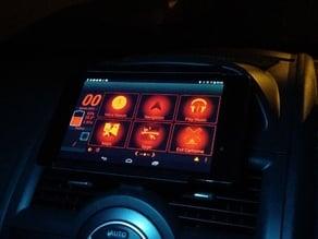 Renault Megane 2008 Nexus 7 Vent Dock