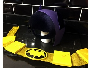Batgirl 1967 Cowl and Utility Belt
