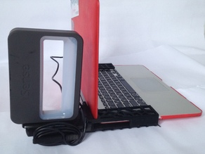 soporte de  escaner 3d para macbook pro