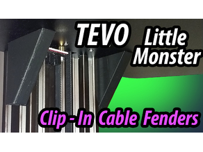 Tevo Little Monster Clip-On Cable Fenders