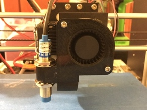 HICTOP Prusa Extruder Fan Mount with Induction Probe