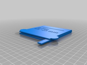 V3 D-Die DB Marking Template Assembly