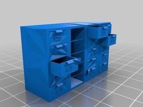 Filing cabinet stack