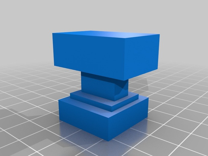 minecraft anvil by lionheart2001 thingiverse
