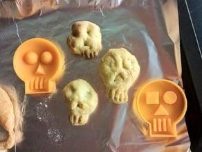 Mini Skull Cookie Cutter