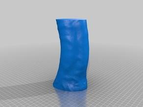 d*ck scan based vase - joke item