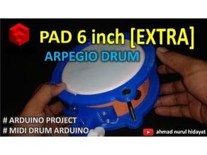 EXTRA - DIY MIDI DRUM PAD 6ich