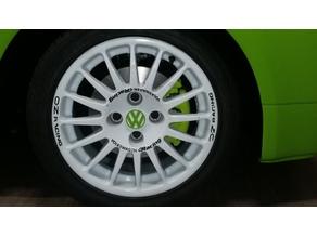Volkswagen Wheel cap by Fixoid Remix