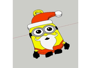 Minions Kevin  Christmas  (five color/Multi Material)