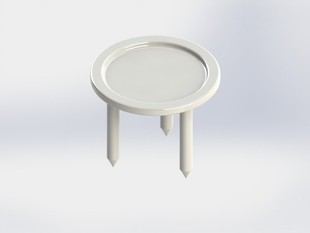 Basic Mini Pizza Table