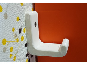 Wall hook for bags and backpacks (heavy duty)