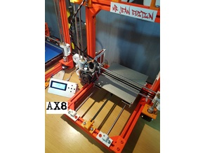 AX8 Anet a8 frame ( AM8 remix )