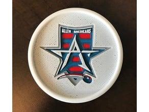 Allen Americans Hockey Coaster