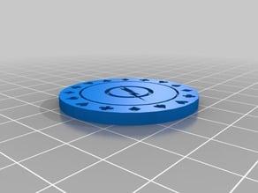 Poker Chip Flash Logo