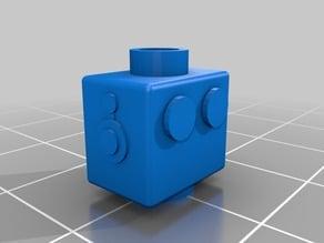 Lego Clockwork Robot Minifigure Head