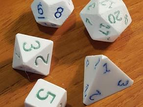OpenSCAD Polyhedral Dice
