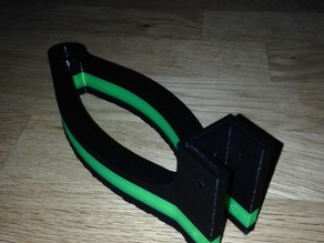 OB1.4 Direct Feed Filament Stand, Cantilevered (for 15mm extrusion)