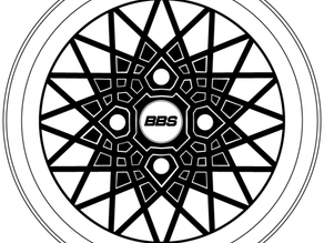 BBS RA wheels central cup (DIA 56 mm)