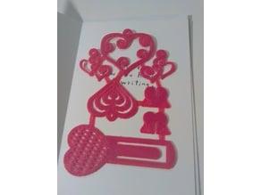 Valentine's Card Insert