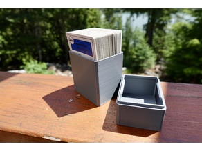 Box for Playing Cards - Double Decker