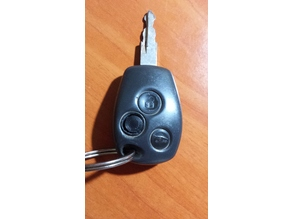 Button key for RenaultTraffic / Boton para llave de Renault Traffic