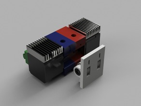 Double Bowden Extruder for Aluminium Extrusion 20x20