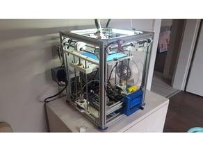 DIY mini 3D printer (Ultimaker type)