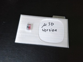 3x5 microSD Card Case