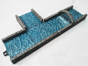 War-Lock Tiles: Dungeon Waterways