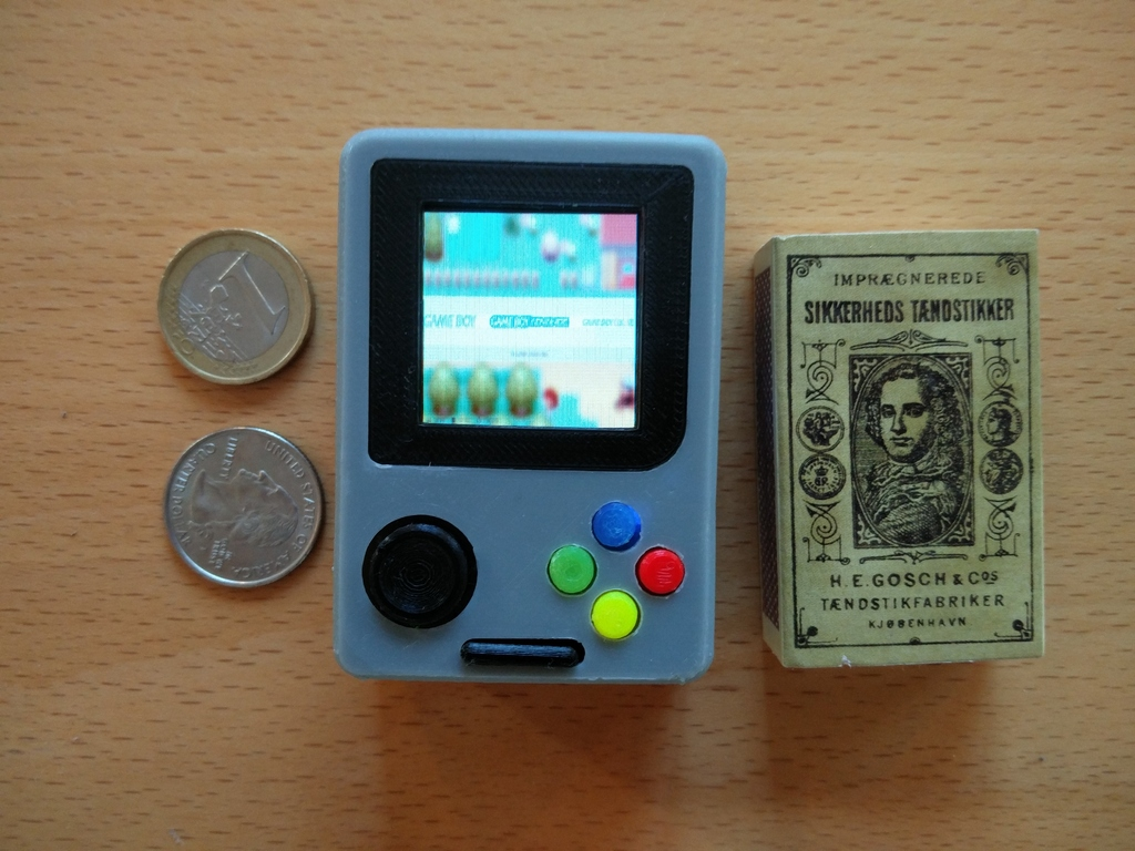 Pi Zero - Gameboy NANO by Rasmushauschild - Thingiverse